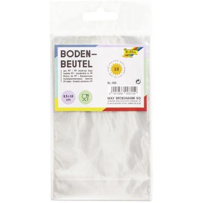 folia Bodenbeutel, Maße: (B)95 x (H)160 mm, transparent