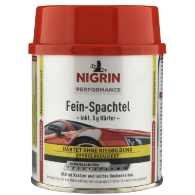 NIGRIN Performance Fein-Spachtel, 250 g