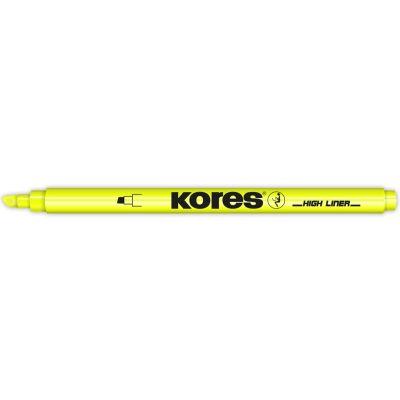Kores Textmarker-Pen, Keilspitze: 0,5 - 3,5 mm, pink