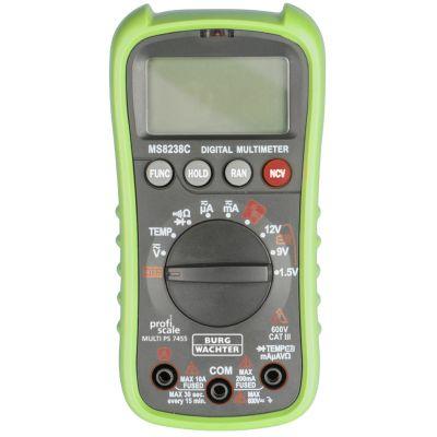 BURG-WÄCHTER Multimeter MULTI PS 7455, grün/grau