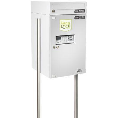 BURG-WÄCHTER Paketempfangsbox eBoxx EA 634 ParcelLock,silber
