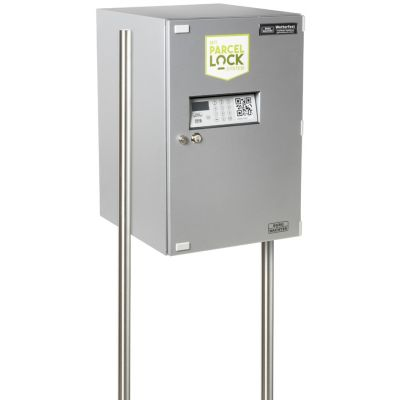 BURG-WÄCHTER Pfosten-Set Terzo 160 eBoxx, weiß