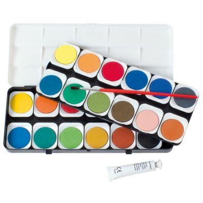 EBERHARD FABER Deckfarbkasten EFA Color, 24 Farben
