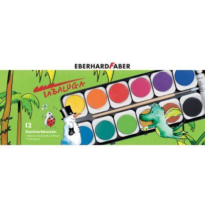 EBERHARD FABER Deckfarbkasten Tabaluga, 12 Farben