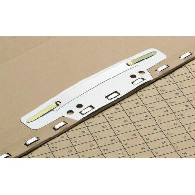 ELBA Einhängeheftstreifen für Registraturen, aus PVC, weiß