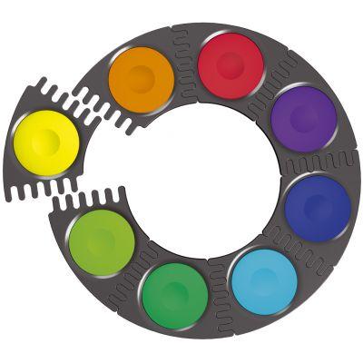 FABER-CASTELL Deckfarbkasten CONNECTOR, 12 Farben