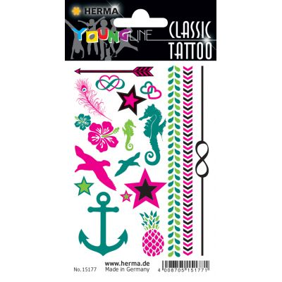 HERMA CLASSIC Tattoo Colour Soccers