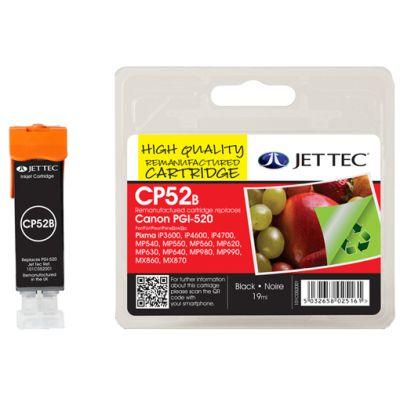 JET TEC wiederbefüllte Tinte CL8Y ersetzt Canon CLI-8Y, gelb