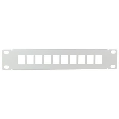LogiLink 10 Keystone Patch Panel, lichtgrau