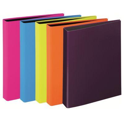 PAGNA Ringbuch Trend Colours, 2-Bügel-Mechanik, lila