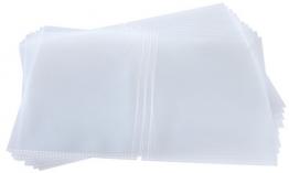 sigel Doppel-Hüllen, DIN A5, aus Kunststoff, transparent