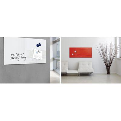 sigel glas magnettafel 39 artverum 39 b x h 550 mm gl242. Black Bedroom Furniture Sets. Home Design Ideas