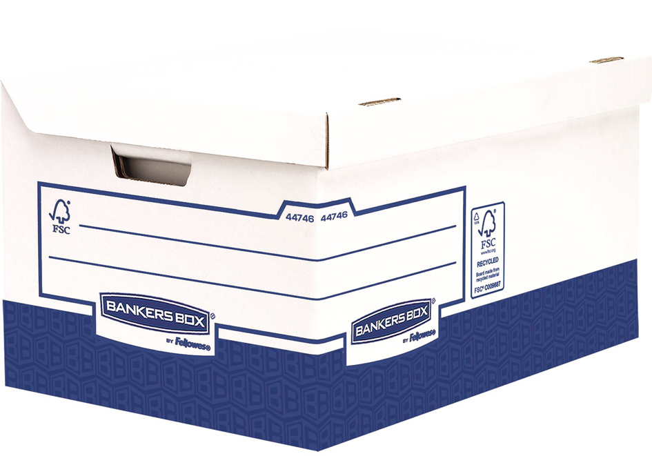 Fellowes BANKERS BOX Archiv-Klappdeckelbox Maxi...