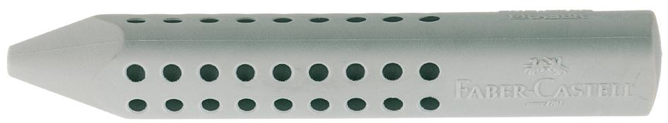 FABER-CASTELL Kunststoff-Radierer GRIP 2001, grau