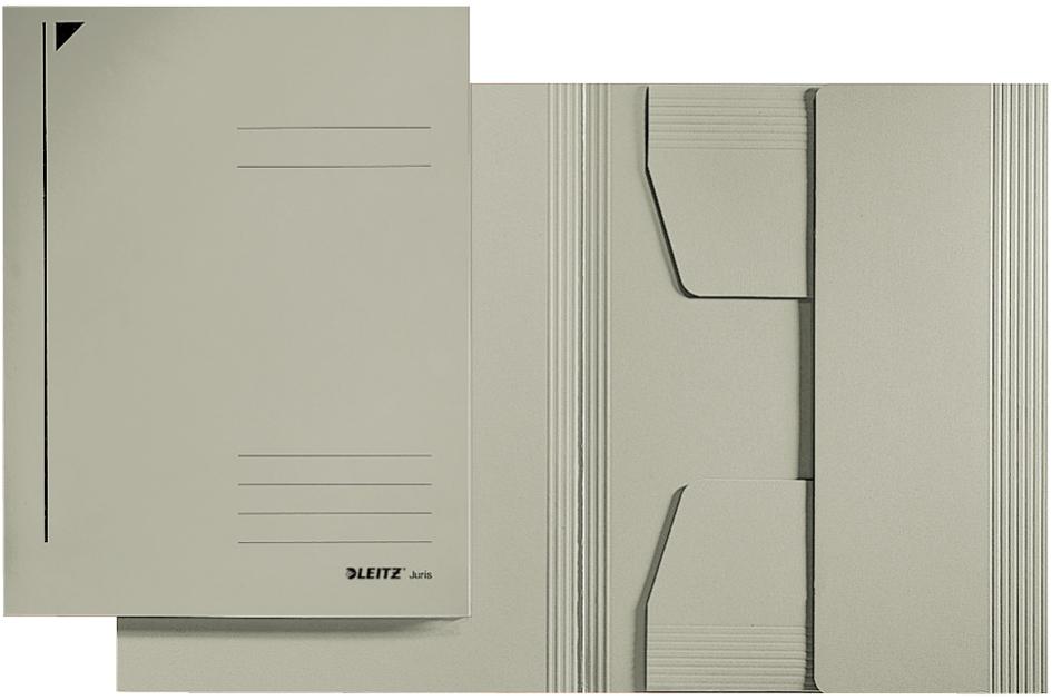 LEITZ Jurismappe, DIN A4, Karton 320 g/qm, grau
