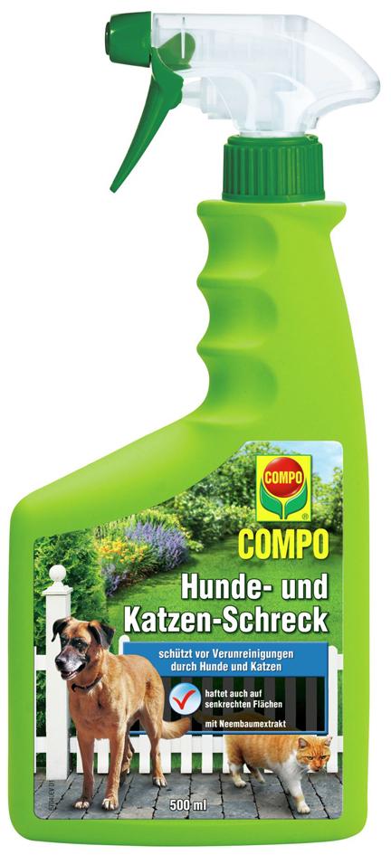 COMPO Hunde- und Katzen-Schreck, 500 ml Sprühfl...