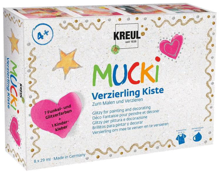KREUL Verzierling ´MUCKI´, Kiste 7+1
