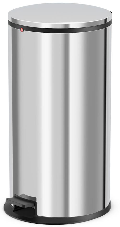 Hailo Tret-Abfallsammler Pure XL, Edelstahl, si...
