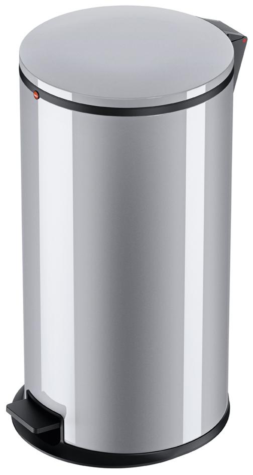Hailo Tret-Abfallsammler Pure XL, Stahlblech, s...
