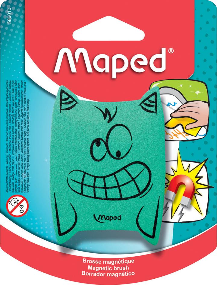 Maped Tafelschwamm ´Monster´, magnetisch, farbi...