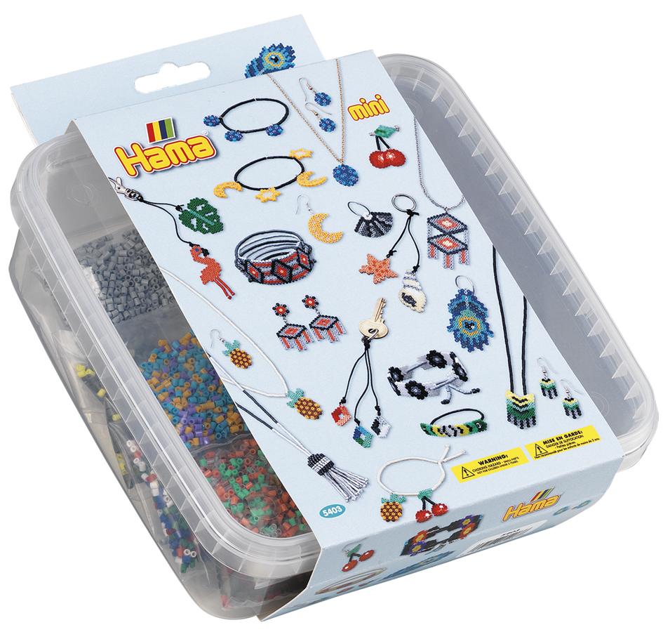 Hama Bügelperlen mini + Stiftplatten ´Schmuck´, in Box