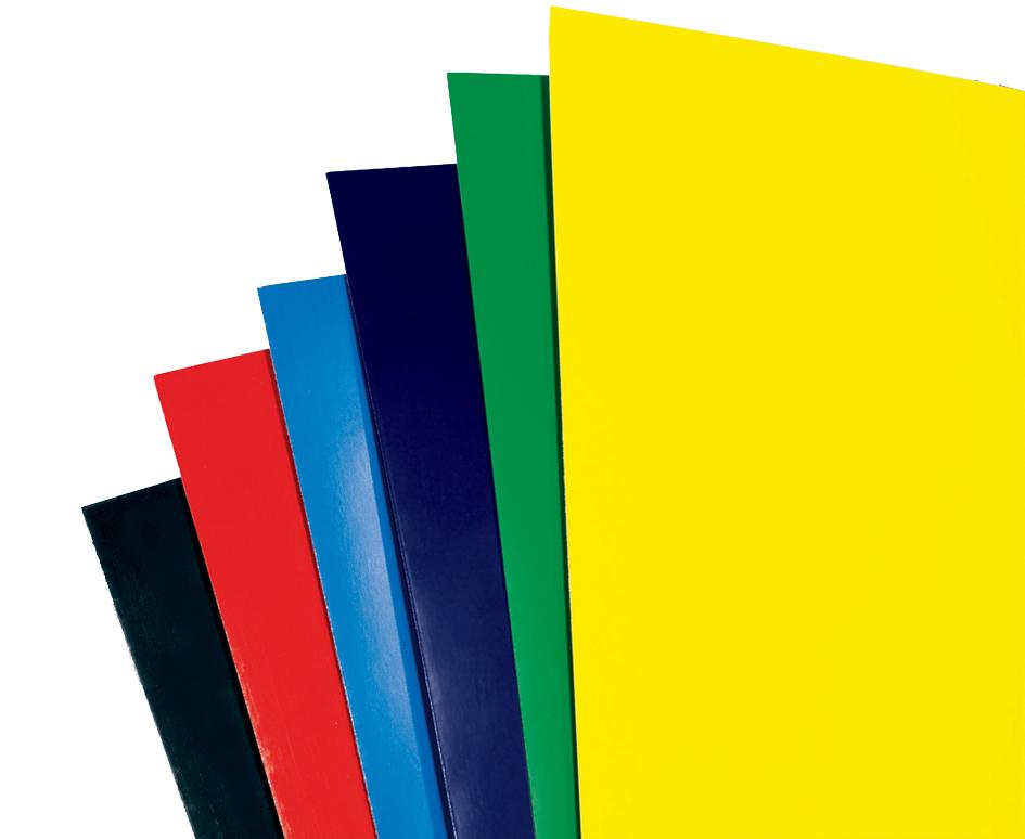 GBC Einbanddeckel HiGloss, DIN A4, 250 g/qm, rot