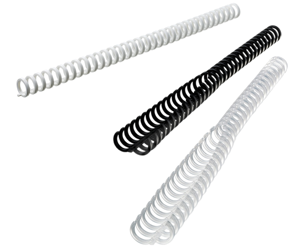 GBC Plastikbinderücken ClickBind, DIN A4, 8 mm, weiß