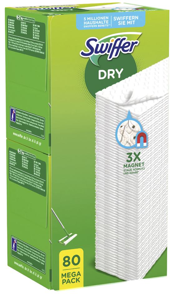 Swiffer Trocken-Bodenwischtücher - Nachfüllpackung