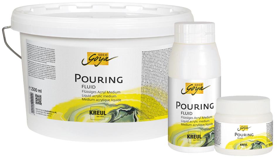 KREUL SOLO Goya Pouring Fluid, 250 ml