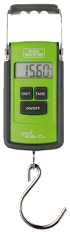 BURG-WÄCHTER Digitale Handwaage TARA PS 7600, grün/grau