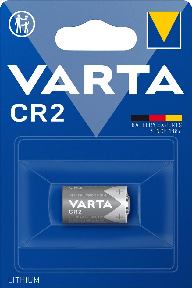 VARTA Foto-Batterie ´Professional Lithium´, CR2...