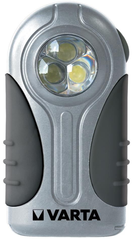 VARTA Taschenlampe ´LED Silver Light´, inkl. 3 ...