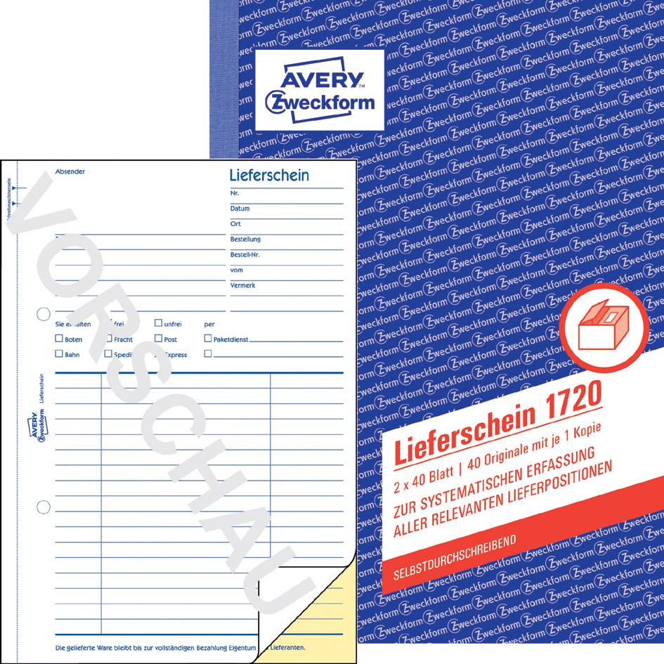 Rabatt-Preisvergleich.de - Büro - Bedarf > Formulare > Formulare ...