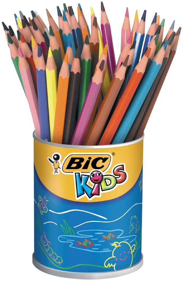 BIC KIDS Buntstifte Evolution ecolutions, 60er Runddose