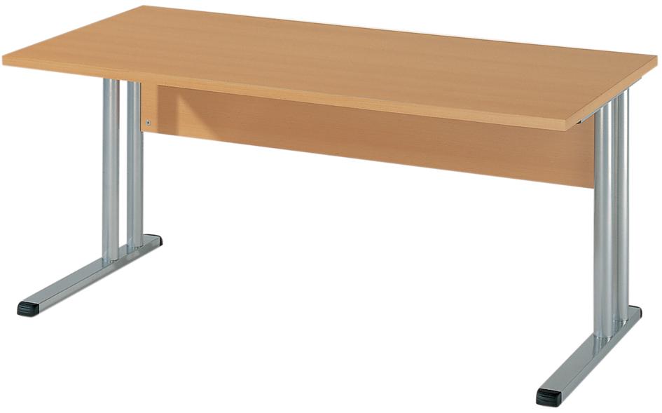 Wellemöbel Schreibtisch ´BÜRO COMBI+ 4´, (B)1.600 mm, Buche-