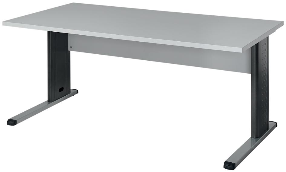 Wellemöbel Schreibtisch ´BÜRO COMBI+ 3´, (B)1.600 mm, grau
