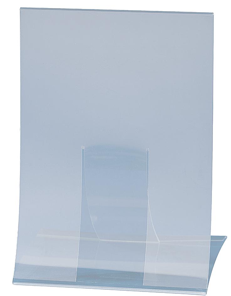sigel Tischaufsteller, Hartplastik, DIN A4, klappbar