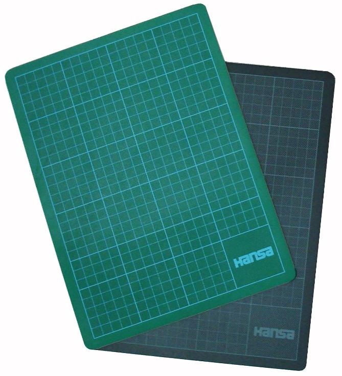 Hansa Schneidematte ´Cut-Mat´, PVC, 600 x 450 mm, grün
