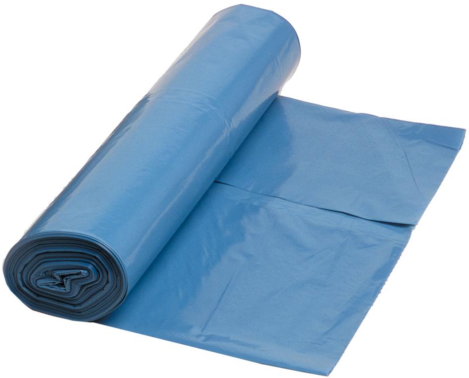 dm-folien Müllsäcke, blau-transluzent, 120 Lite...