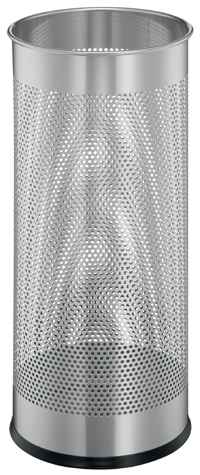 DURABLE Metall-Schirmständer, rund, metallic silber
