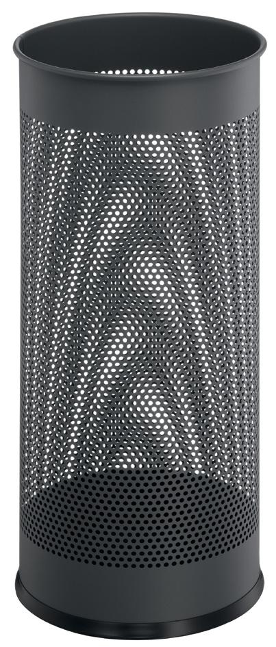 DURABLE Metall-Schirmständer, rund, anthrazit