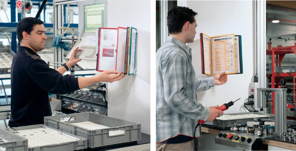 DURABLE Display-System VARIO wall 10, Komplett-Set