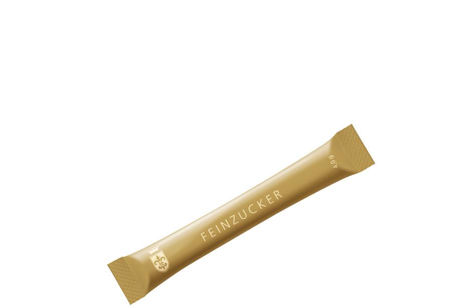 HELLMA GOLDLINE Zucker-Sticks, im Karton