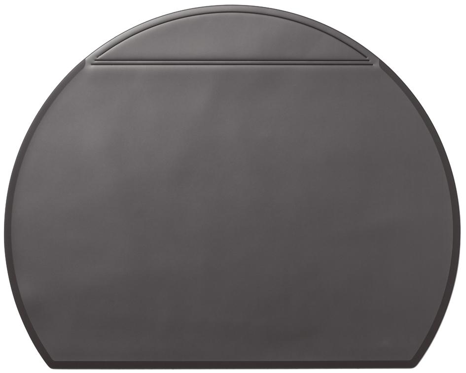 Schreibtischunterlage schwarz 65x52cm mit Kalender Durable Schreibunterlage