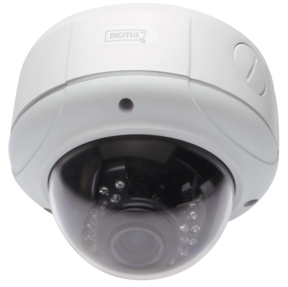 DIGITUS Plug&View IP Netzwerk Kamera ´OptiDome Pro´ WLAN