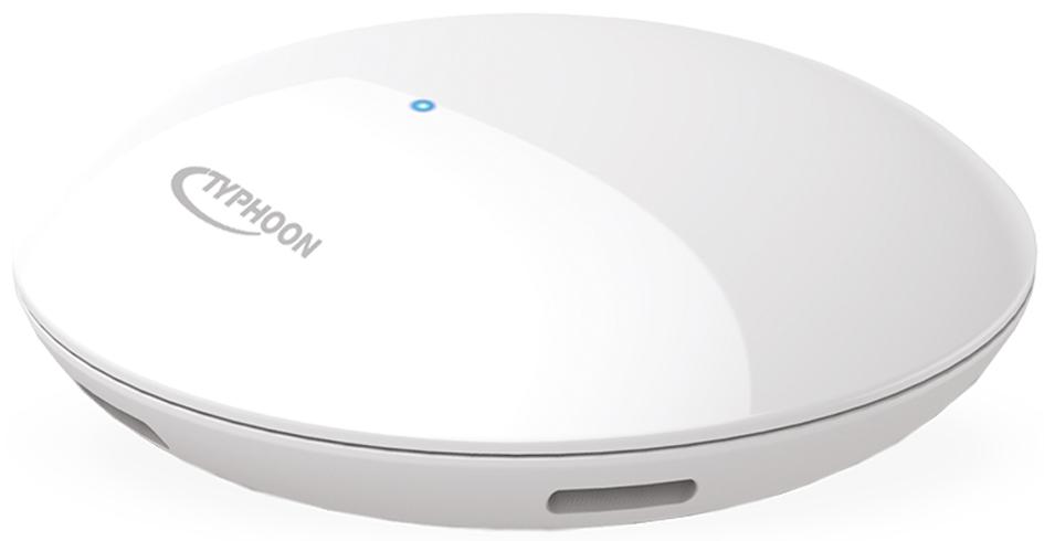 TYPHOON Bluetooth Wetterstation BlueWeather, weiß