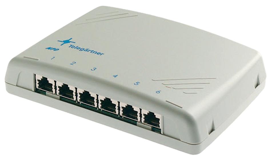 Telegärtner Modular Patch Verteiler Kat.6A, 12 ...