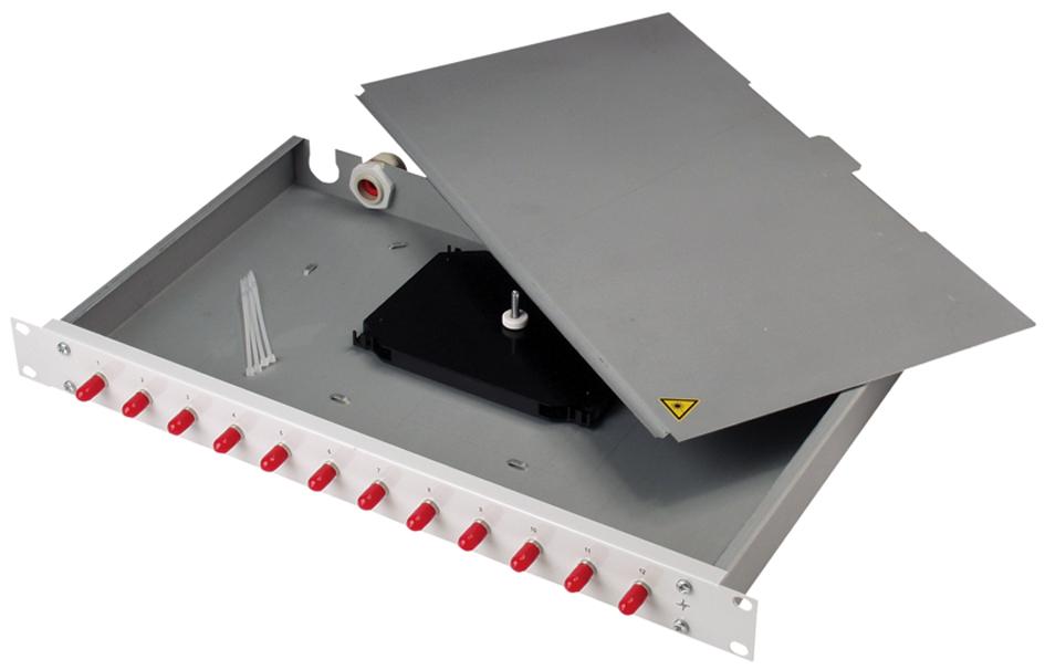Telegärtner 19´ LWL Patch Panel Basis eco mit 1...