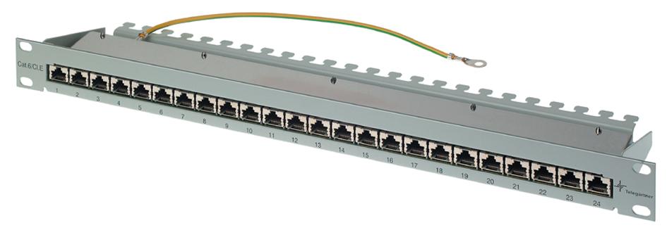 Telegärtner 19´ Patch Panel, K Class EA(tief), ...