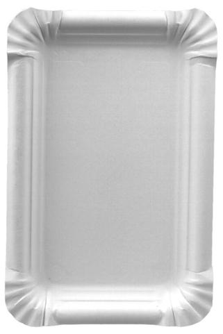 PAPSTAR Papp-Teller ´pure´ eckig, 165 x 230 mm, weiß, 250er